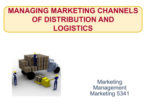 Distribution Channel..