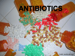How Antibiotics Work PPT