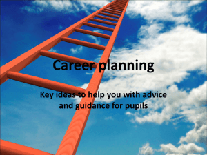 Career planning background ideas