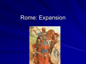 Rome: The Punic Wars - Kenston Local Schools