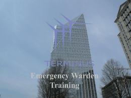 Emergency Response for Tenants
