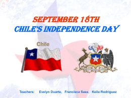 September 18th Chile´s Independence Day
