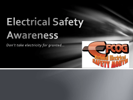 Electrical Safety Awareness