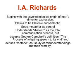 I.A. Richards