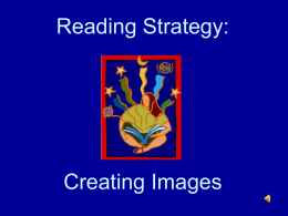 Reading Strategy: Visualize