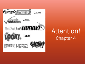 Ch 4: Attention