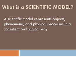 Scientific Models Powerpoint