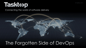 The Forgotten Side of DevOps