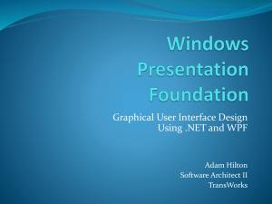 WPF Graphics - Telerik Academy