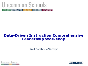Data-Driven Instruction Comprehensive Leadership
