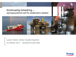 New powerpoint template - Technip 2011