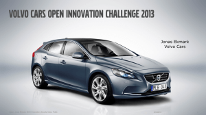 volvo cars open innovation challenge 2013