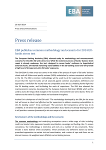 Press release - European Banking Authority
