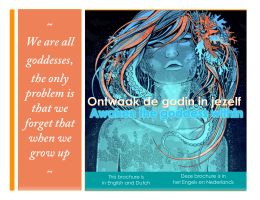 We are all goddesses, the only problem is that we forget