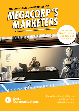 Or: How to Use Comics in B2B Content Marketing