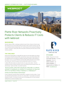 Platte River Networks Proactively Protects Clients