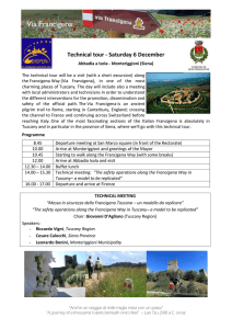 Technical tour - Saturday 6 December