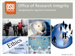 Slide 0 - Research at OSU