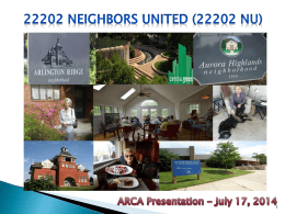 22202 neighbors united 22202 nu - Arlington Ridge Civic Association