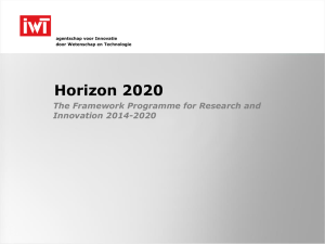 Horizon 2020 and partnering
