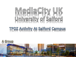 Media City UK (Presentation)
