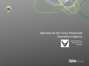 Qliktech* Federal Slide Deck