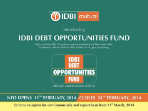 IDBI Debt Opportunities Fund