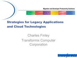 Slides - AITP SD Cloud Computing Conference 2014