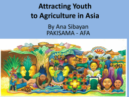 to - Asian Farmers Association for Sustainable Rural