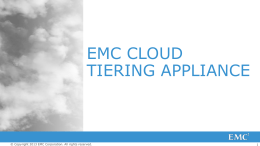 EMC_Cloud_Tiering_Appliance_Technical_Overview