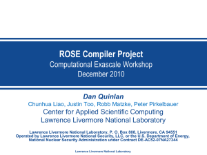 ROSE_CASC_Exascale_Workshop_ROSE_v4