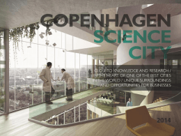 PowerPoint-præsentation - Copenhagen Science City