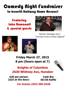 Comedy Night 201 - Halfway Home Rescue