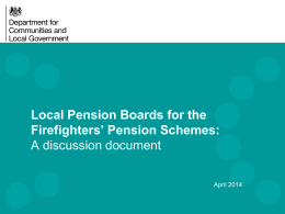 FPC(14)8 - pension boards - discussion document