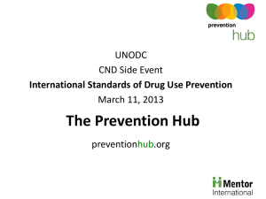 Mentor Prevention Hubs