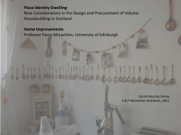 Home Improvements - Scottish Universities Insight Institute