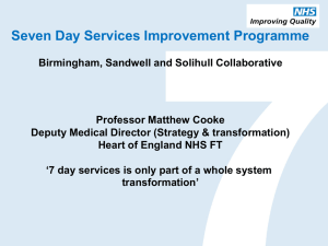 Birmingham, Sandwell and Solihull Collaborative
