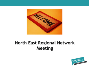 North East Regional Meeting March 2014- slides