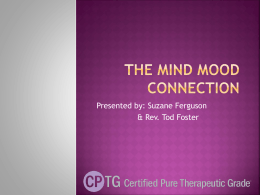 The Mind Mood Connection - Pittsburgh Essential Oils