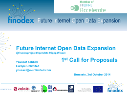What is FINODEX? - Open Data Forum