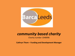 Friends of Bramley Baths - Leeds Community Foundation