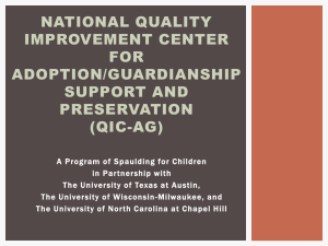 Overview-QIC-AG - Spaulding for Children