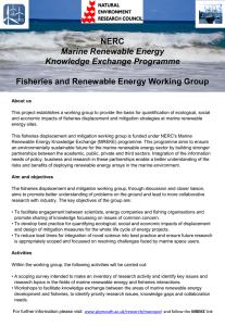 NERC Marine Renewable Energy Knowledge Exchange