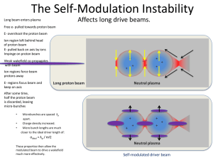 The Self-Modulation Instability