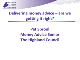 - Money Advice Scotland