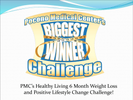 PMC`s Biggest Winner Challenge!