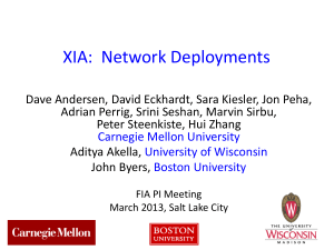 XIA-PI-Meeting-2013 - NSF Future Internet Architecture Project