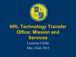 NRL Technology Transfer Office