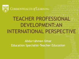 PPT - Teacher Education