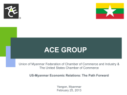 ACE Group Update - U.S. Chamber of Commerce